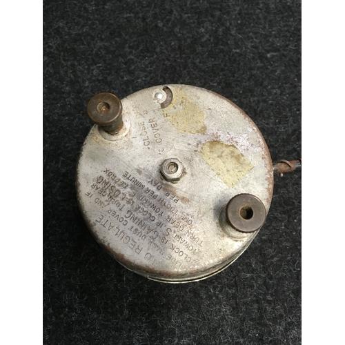 27M - An AC manual wind 1930's car clock....