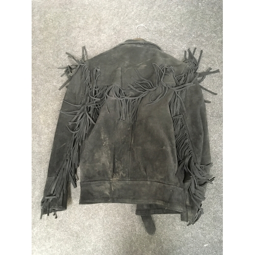 64M - Sucde Black tassel jacket....