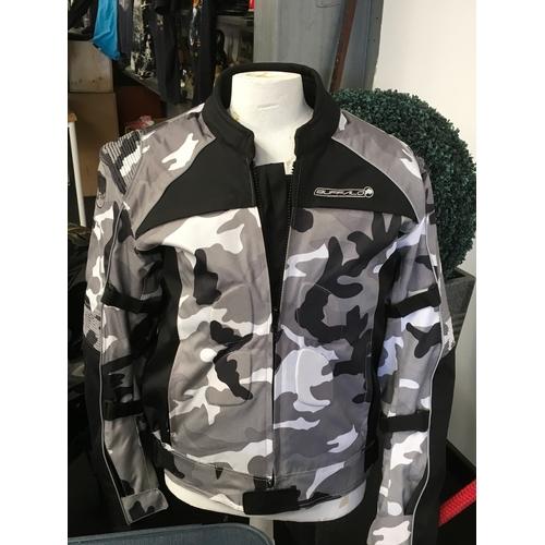 66M - Buffalo black and white camo Gortex jacket, 2XL/48