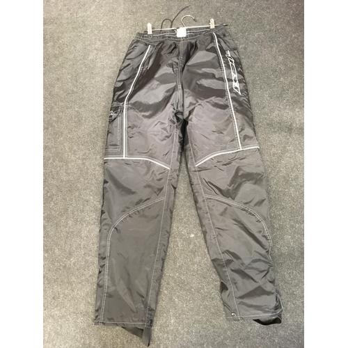 67M - Ixon Gortex motorcycle trousers with elasticated waist....