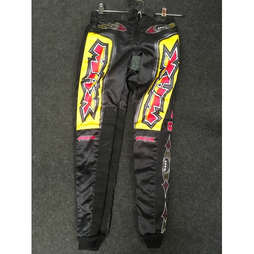 74M - M.A.X 2000 motorcycle trousers, Size 26....