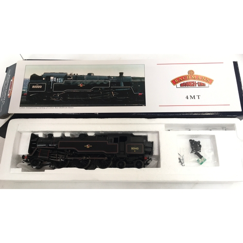 24 - BACHMANN OO gauge 32-351DC  BR Black Standard Class 4MT # 80140 - DCC fitted - the Model is unused b...