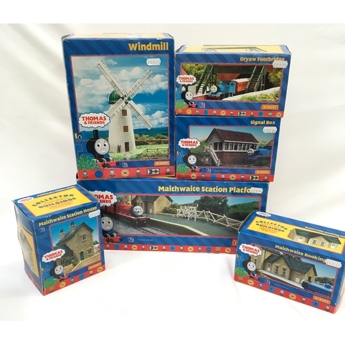 48 - Hornby Thomas & Friends OO Gauge Collector Buildings consisting of Maithwaite Station Platform, Wind...