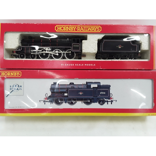 19 - Two Hornby OO Gauge locomotives- R2178B BR 0-6-2 Class N2 #69506 and R292 BR 4-6-0 Class 5 #45422....