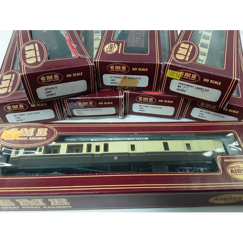 8 - GMR OO Gauge 8 x boxed Coaches....