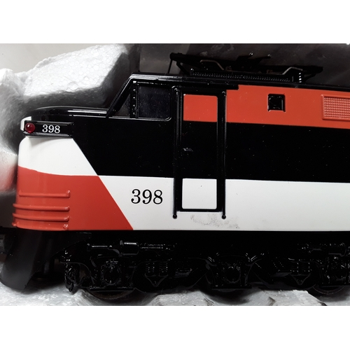 20 - Williams O Gauge Electric Train - New Haven #92398 - Appears Excellent in Excellent box and outer ca...