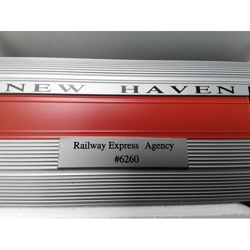 16 - Williams by Bachmann O Gauge passenger car - New Haven Railway Express Agency #6260. Appears Excelle...