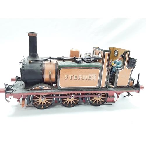 15 - Scratchbuilt model of LBSCR 55 Stepney steam locomotive....