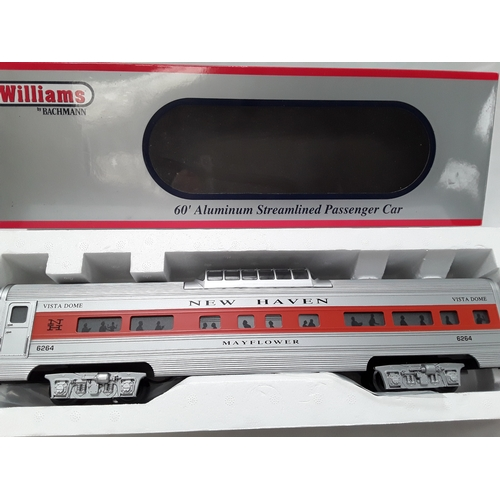 10 - Williams by Bachmann O Gauge passenger car - New Haven Mayflower #6264. Appears Excellent in Near Mi...