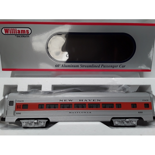 25 - Williams by Bachmann O Gauge passenger car - New Haven Mayflower #6262. Appears Excellent in Near Mi...