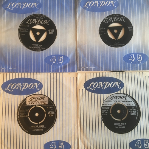 35 - RUTH BROWN PLUS 3 OTHERS ON THE LONDON LABEL. Nice R 'n' B / Rock 'n' Roll selection here kicking of...