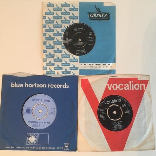 56 - SOUL SINGLES X 3. Bobby Bland 'I'm Too Far Gone on Vocalion VP 9262 from 1965 - Arthur K. Adams 'She...