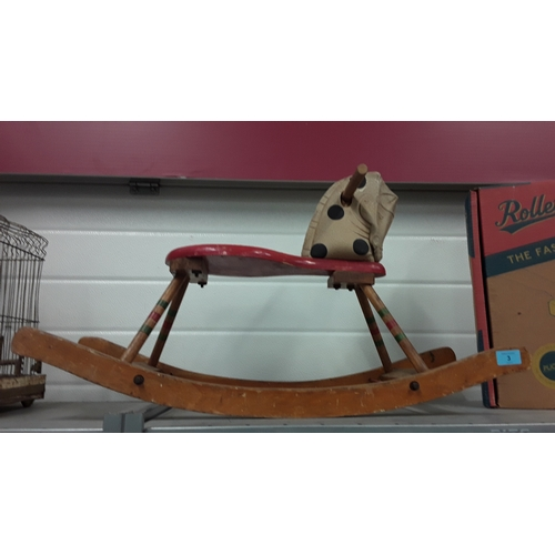 3 - A Triang rocking horse....