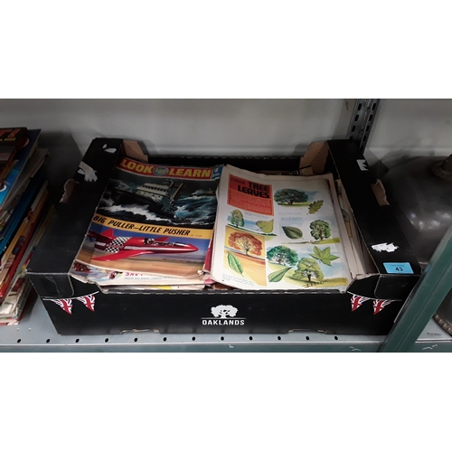 43 - A collection of Look and Learn magazines....