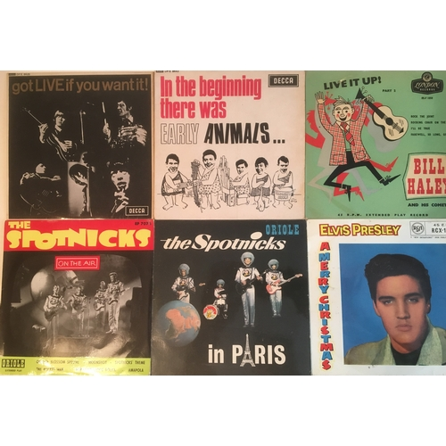 26 - ROCK 'N' ROLL VINYL E.P's X 6. Super selection of  extended play records here from great such as Bil...