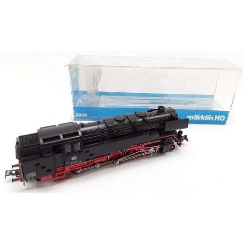 30 - Marklin HO 3309 DB Class 85 Steam tank locomotive....