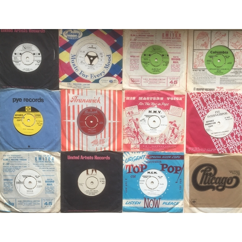 31 - COLLECTION OF 12 DEMO 1960'S SINGLE 45rpm RECORDS. Nice selection here to include - Jerry Lee Lewis ...