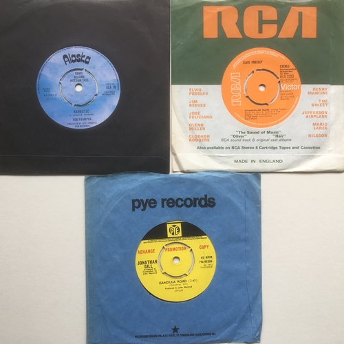 46 - COLLECTABLE DEMO/ PROMO 1970's RELATED 7