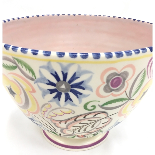 123 - Poole Pottery shape 171 C pattern planter by Ruth Pavely....