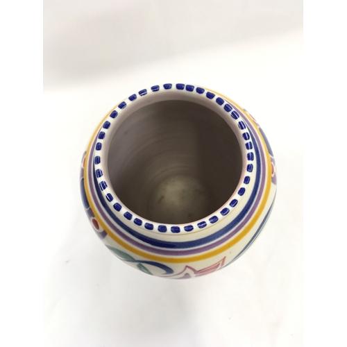 30 - Poole Pottery shape 442 GL pattern vase by Marian Jones....