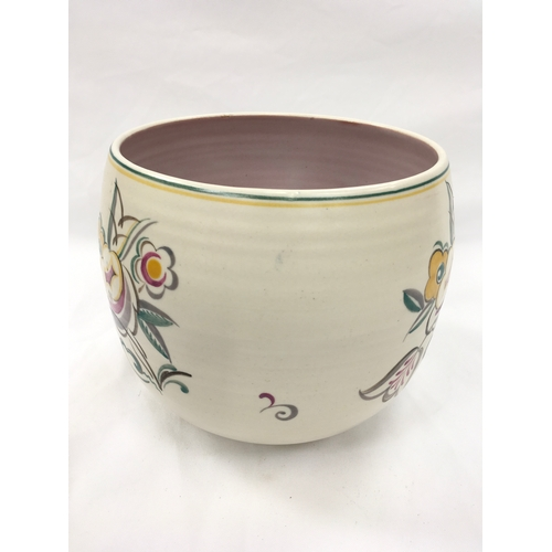 46 - Poole Pottery shape 869 GM pattern large planter by Ruth Pavely (please examine)....