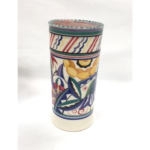 128 - Poole Pottery shape 206 VY pattern vase...