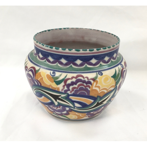 33 - Poole Pottery Carter Stabler Adams shape 923 CO pattern small jardiniere...