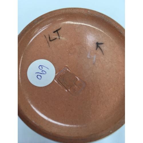 130 - Poole Pottery shape 504 LT pattern vase by Marian Heath....