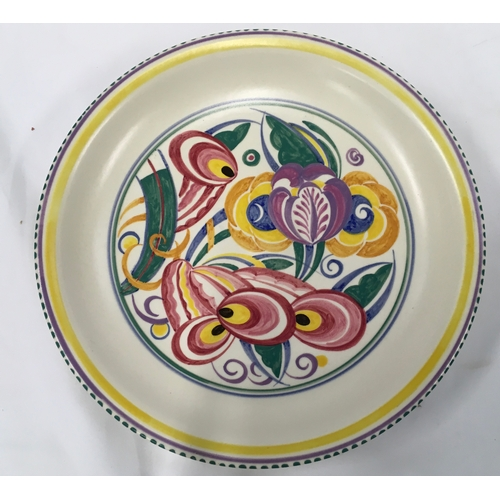 11 - Poole Pottery shape 821 BX pattern shallow bowl....