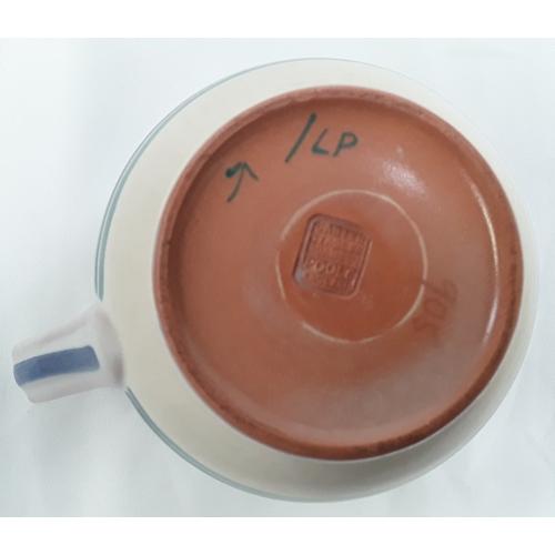 25 - Poole Pottery Carter Stabler Adams shape 905 LP pattern Art Deco jug by Marian Heath....