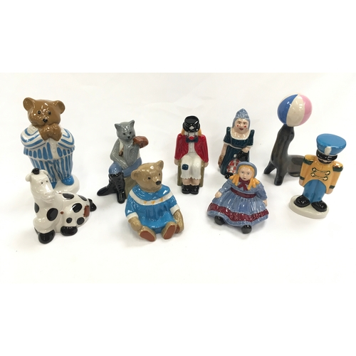 42 - A collection of Wade figures....