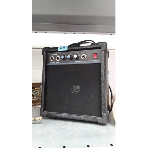 1010 - A Realistic G-10 guitar amplifier....