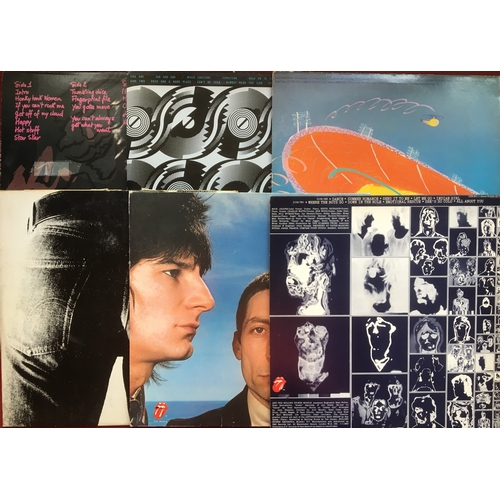 1 - 12 x ROLLING STONES VINYL LP RECORDS. All presented here in VG++/Ex conditions with titles as follow...