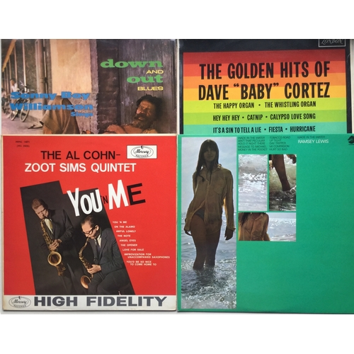 18 - JAZZ / BLUES ALBUMS X 4. This is a cool set of records kicking of with Dave 'Baby' Cortez on Maroon ...