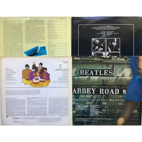 14 - ORIGINAL BEATLES LP VINYL RECORDS. Here's 4 from the Fab Four. Great copies of 'Let It Be' on Apple ...