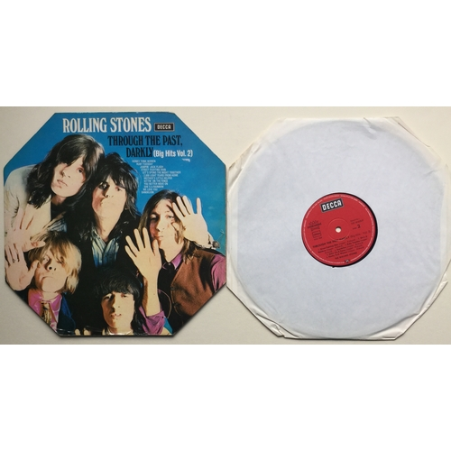 19 - FOREIGN ROLLING STONES VINYL PRESSINGS X 5. 'Through The Past Darkly (Big Hits - Vol.2)' IN VG++ wit...