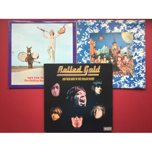 5 - SUPERB SET OF 6 X ROLLING STONE VINYL LP RECORDS. All in fantastic conditions we have the following ...