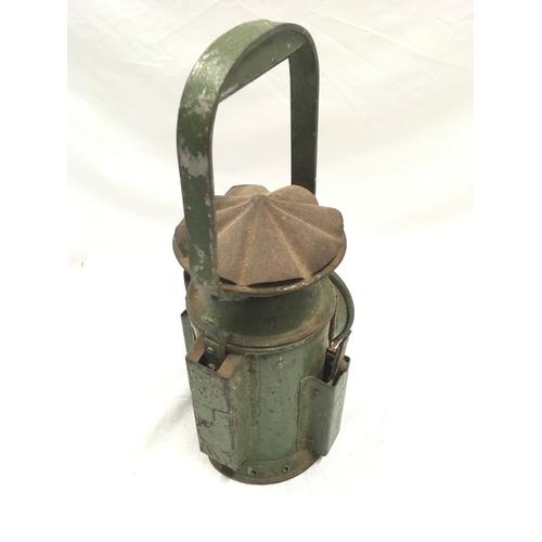 213 - Military railway signal lamp - Eastergate 1945....