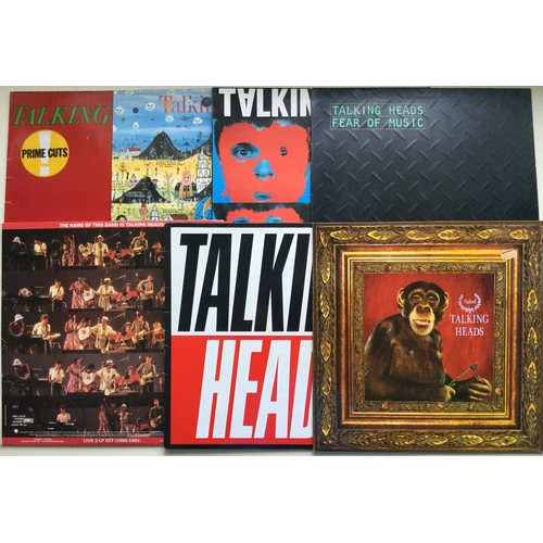 9 - TALKING HEADS LP VINYL COLLECTION. 7 albums here including - True Stories - Naked - The Name Of This...
