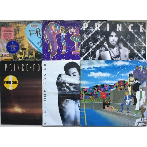 8 - 6 X PRINCE LP VINYL RECORDS. This collection includes double and single albums including - Around Th...