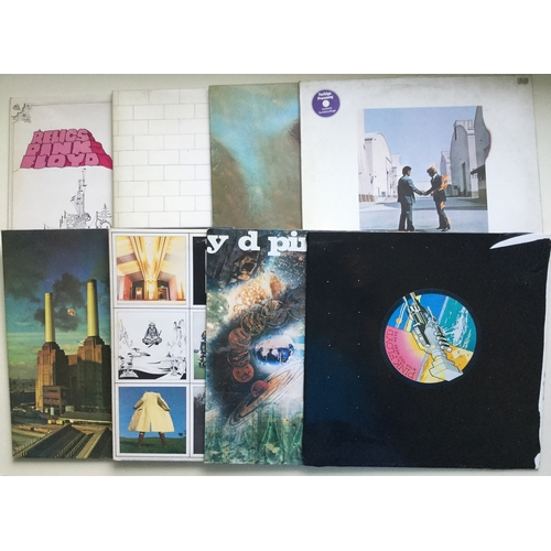 2 - PINK FLOYD ALBUMS X 8. Super quality set of records here from The Floyd kicking of with 'Wish You We...