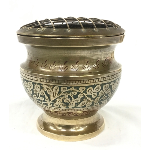 217 - Trench Art ashtrays together with items from Indian sub continent....