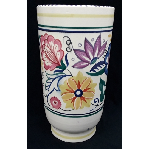 1023 - Poole Pottery vase, 25cm high....