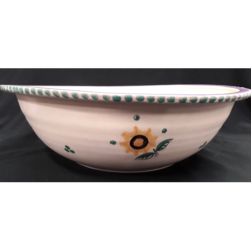 1054 - Poole Pottery bowl, 38cm diameter....