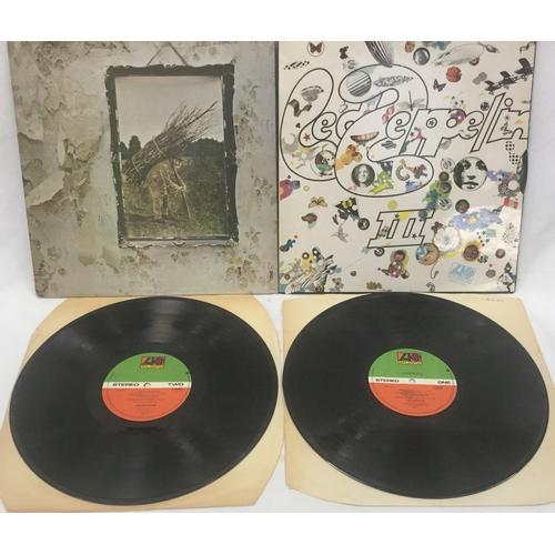 20 - 2 X LED ZEPPELIN VINYL LP RECORDS. ' Led Zeppelin  'IV' on re-press Atlantic K 50008 Made In UK from...