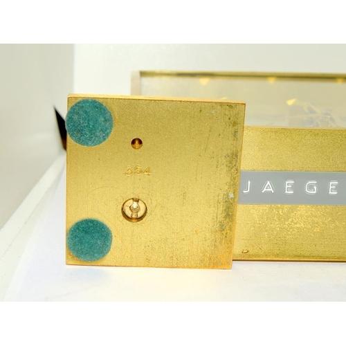 9 - Jaeger Lecoultre 354 clock....