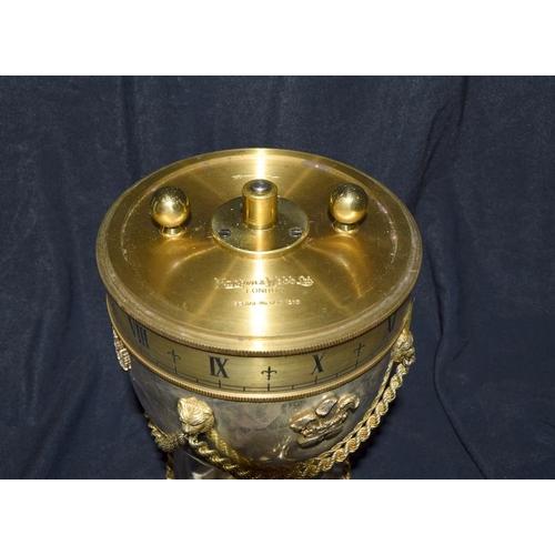 14 - Mappin & Webb Royal Wedding Silver commemorative clock cup, hallmarked....