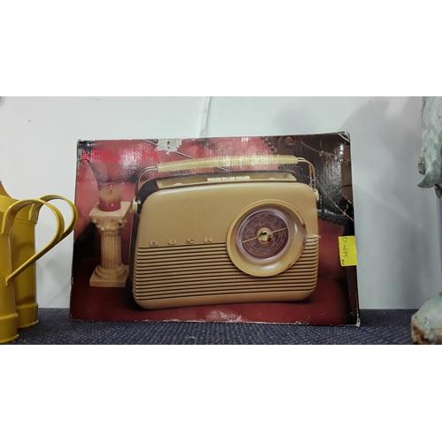 2047 - A Bush TR82/97 radio. Boxed....