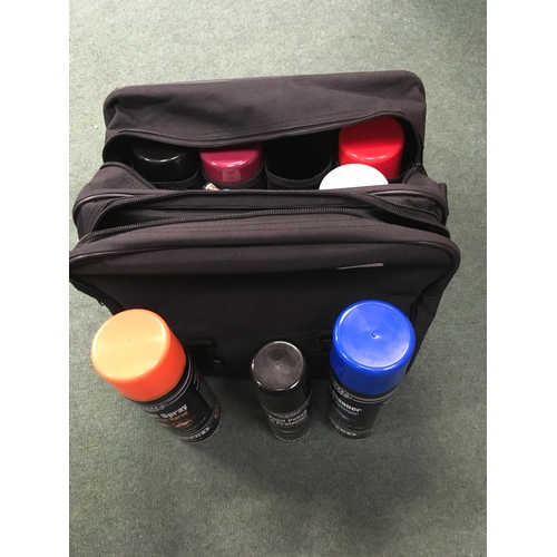 2008 - A bag containing numerous car cleaners and protection sprays (REF:4)....