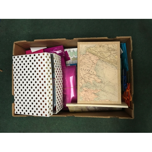 2027 - A craft box with envelopes and gift bags etc....